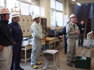 鉄筋工事の重要性を語る飛田社長