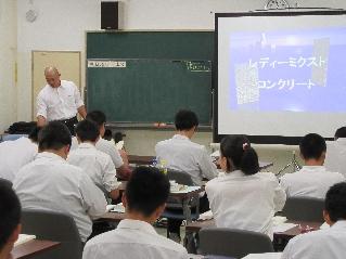 新潟工業高校で樹幹講習会