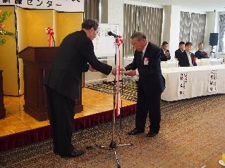川本先生表彰